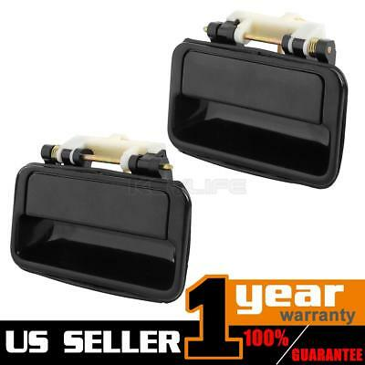 Pair For 1989-1994 GEO METRO Exterior Outside Rear Left Right Door Handle