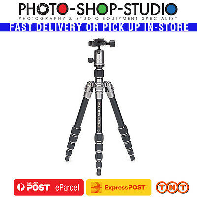 Mefoto BackPacker Travel Tripod Kit Aluminium A0350Q0T (Titanium)