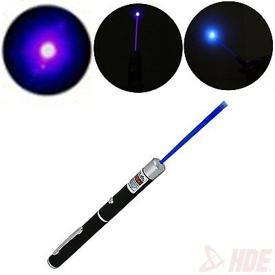 1mw Purple Blue Beam Night LED Laser Pointer Pen Teaching Tool Toy Gifts