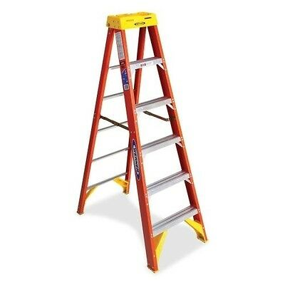 Werner 6200 Series Single Sided Step Ladder 6206CA