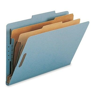 Smead 19021 Blue 100% Recycled Pressboard Colored Classification Folders 19021