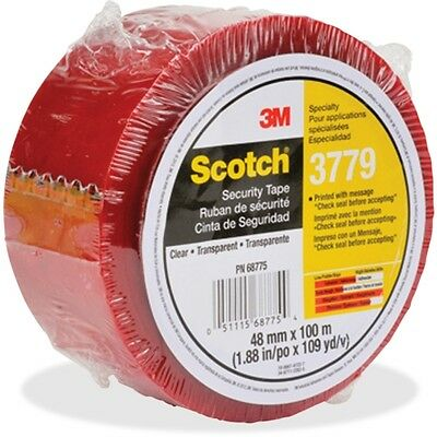 Scotch Printed Message Security Tape 377948X100
