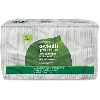 Seventh Generation 100% Recycled Napkins 13713