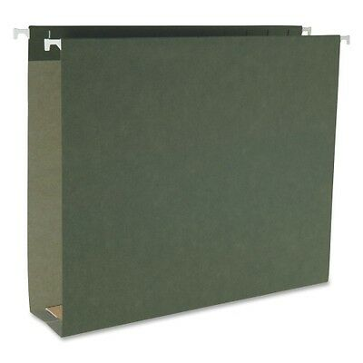 Smead 64259 Standard Green Hanging Box Bottom Folders 64259