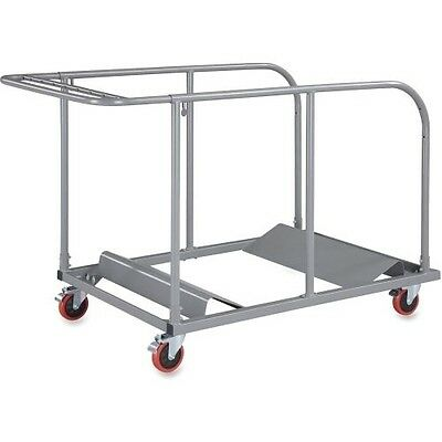 Lorell Round Planet Table Trolley Cart 65955