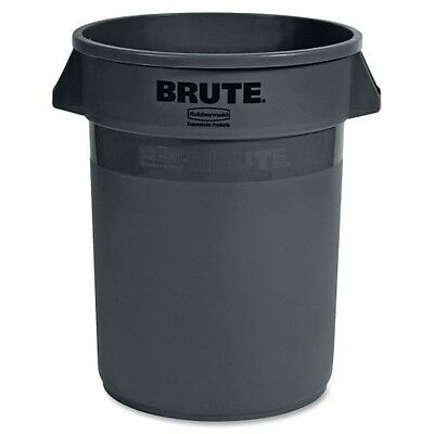 Rubbermaid Brute Round Containers without Lid 263200GRAY