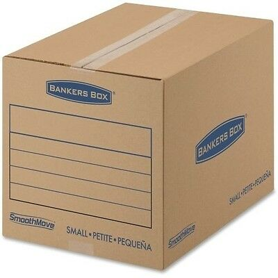 Fellowes SmoothMove Basic Moving Boxes, Small 7713801