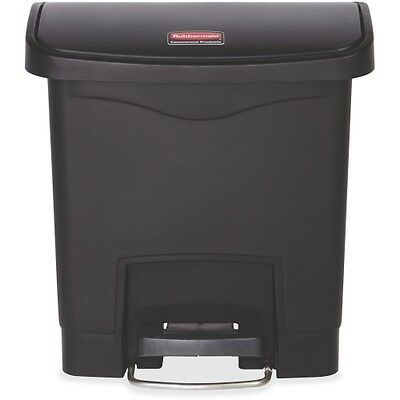 Rubbermaid Commercial 1883608 Slim Jim Step-on - 15L/4G Resin Front Ste 1883608