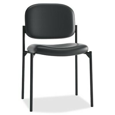 Basyx by HON Leather Guest Chair w/o Arms VL606SB11