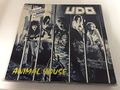 UDO - ANIMAL HOUSE LP Ex+/Mint First 1987 Ger Press Heavy Metal Accept!!!!