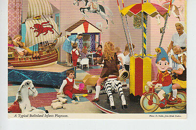 Typical Butlinland Infants Playroom. Postally used from Minehead 1977