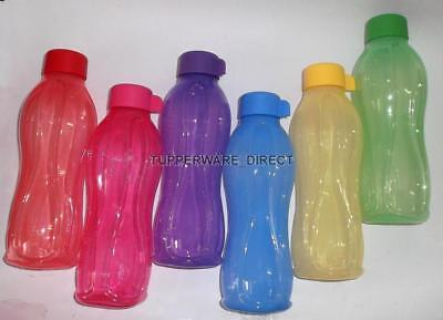 Tupperware  Aqua Safe - 500 ml - 16oz Water Bottle  ( Set of 6 Bottles ) - New