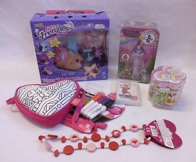 Spielzeug Paket Restposten Frenzies, Color me Mine, Bastelperlen, Filly, Kette
