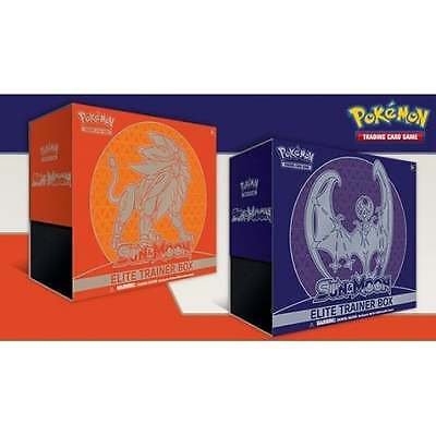 POKEMON SUN & MOON * Elite Trainer Box Bundle of 2
