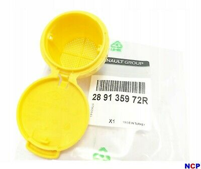 O.e Renault Renault Clio 4 Windscreen Washer Bottle Top Cap Yellow