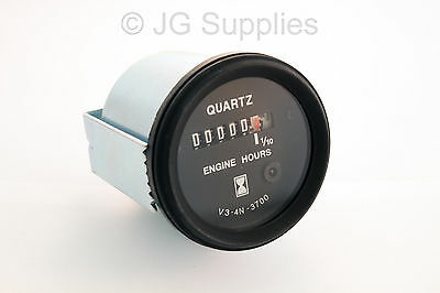 Hour Counter Gauge With Led red counting light 12v
