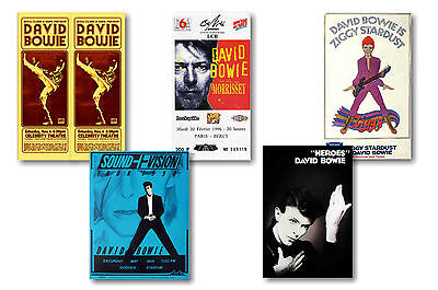 David Bowie - Set Of 5 - A4 Poster Prints # 2