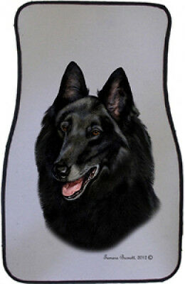 Car Floor Mats Pair - Belgian Sheepdog 36204