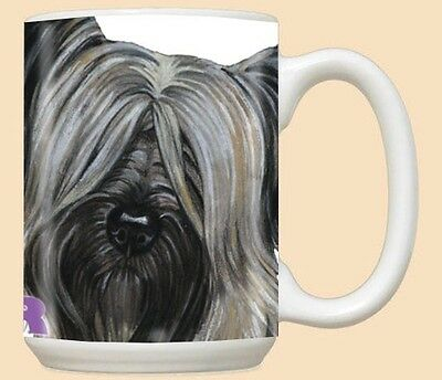 15 oz. Ceramic Mug (PS) - Skye Terrier MU729