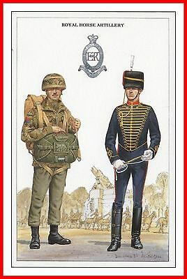 Royal Horse Artillery Driver & Gunner Parachutist British Army Uniforms Series