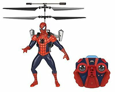 NEW Marvel Ultimate Spider-Man 2-Channel RC Marvel Flying Figure Helicopter