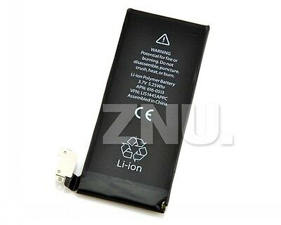 Oferta!1pc 3,7 V 1420MAh Partes Recambio Interno Li Batería para Apple iphone 4G