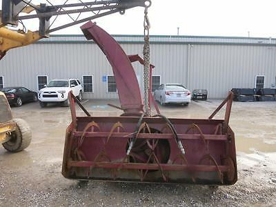 """Schweiss 96"""" Snow Blower For Tractors, 3 Pt. Hook Up, Hydraulic Adjusting Chute"""