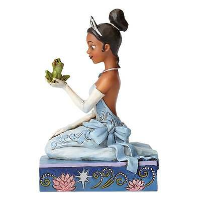 Disney Traditions Resilient and Romantic Tiana with Frog Figurine New 4054276