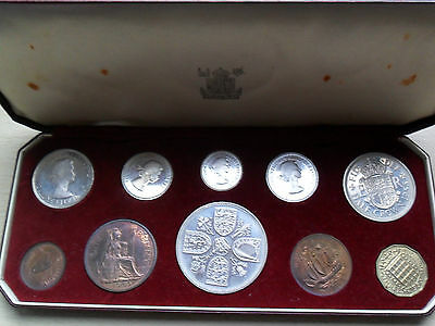 1953 proof set Queen Elizabeth II Coronation Crown to Farthing all original