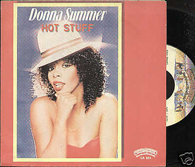 DONNA SUMMER hot stuff / journey to... -1979 Italy
