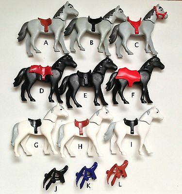 PLAYMOBIL Horses Lot/Pick & Choose $0.99-$2.49/ Combined Shipping Available