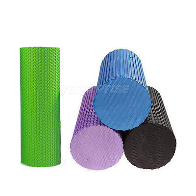 Professional Yoga Pilates Foam Roller MUSCLE Tissue FITNESS Physio Massage