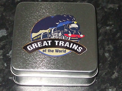 Atlas Editions - Great Trains On The World Coaster Set. New.