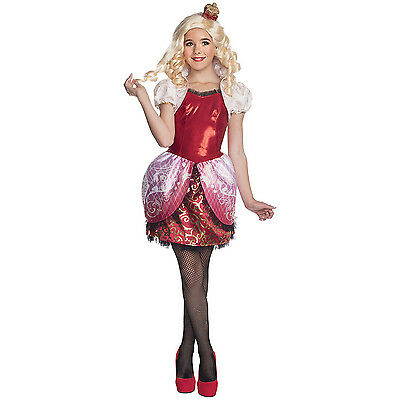 Ever After High Deluxe Apple White Kid's Girls Costume