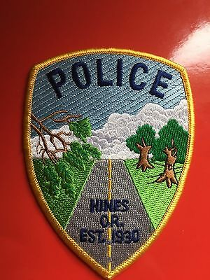Hines Oregon  Police  Shoulder Patch