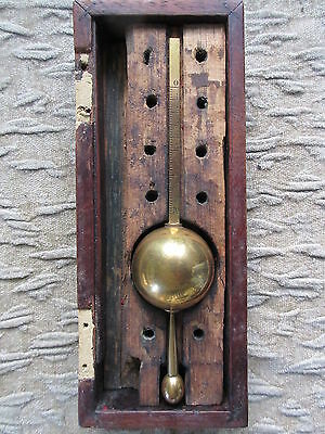 Antique Sikes Hydrometer In Mahogany Box Dring & Fage