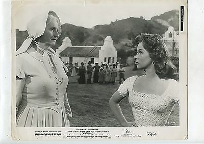 "Old 1955 Movie Photo Card 8"" X 10"" Untamed B/W Susan Hayward"