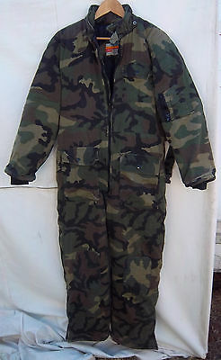 Men's Winchester Camo Insulated Full Length Coveralls Hinting/Snow  -- Size M