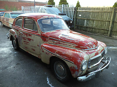 Volvo Pv544 2Dr Coupe(1960) Lhd Exc Rustfree Project! Desert Find! Prices Rising
