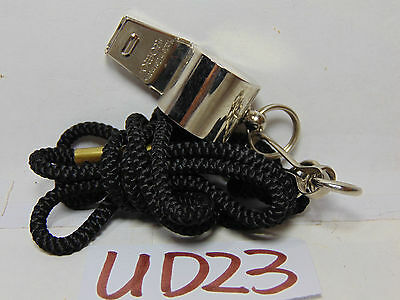 Vintage German Made Romo Whistle With Neck Strap For Sports-Ect