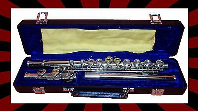 Rossetti Silver Flute C Key with Deluxe Case