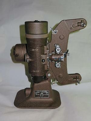 "Vintage 8mm Cine Projector BELL & HOWELL FILMO ""MASTER 400"" 1940s + Case WORKING"