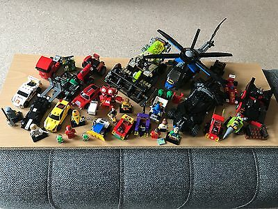 Large Lot Of LEGO Super Heroes, Shell Promos, Collectable Minifigures & More