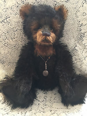 Charlie Bears NEWTON 2015 Isabelle Mohair Collection FREE US SHIP