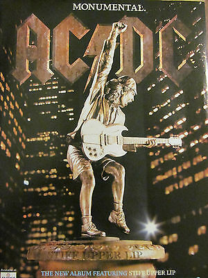 AC/DC, Monumental, Full Page Promotional Ad