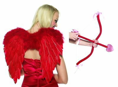 Ms. Cupid Ladies Costume Wings and Bow Kit