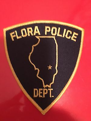 Flora Illionis Police Patch