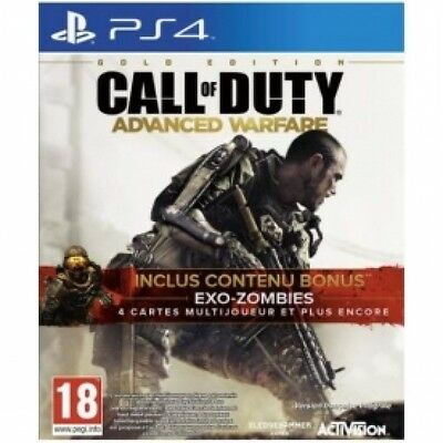 Call Of Duty Advanced Warfare Gold Edition PS4 Game Brand New