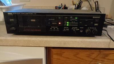 Yamaha K-27  Vintage Stereo Cassette deck Player & Recording Dolby Working
