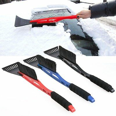 Auto Car Windshield Snow Ice Cleaning Scraper Snowbrush Shovel Removal Brush Hot